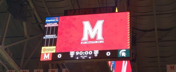 Maryland scoreboard