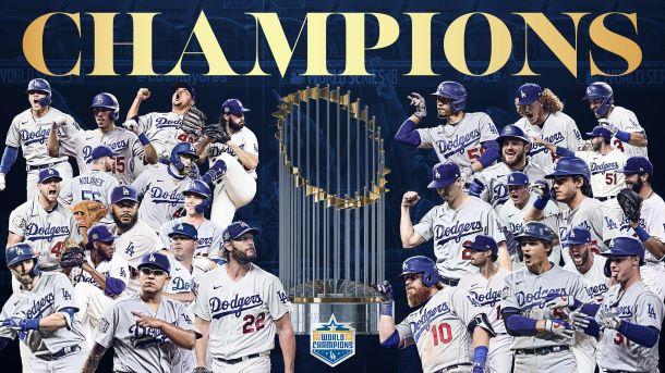 Dodgers World Series Champions