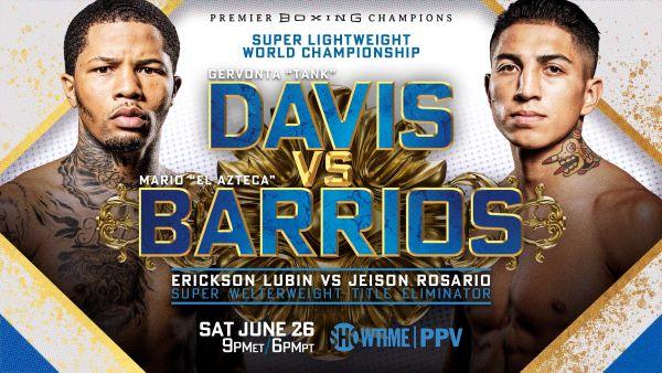 Davis-Barrios Fight Poster
