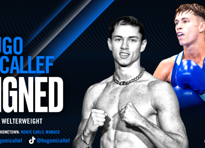 Hugo Micallef Signs with Top Rank Boxing