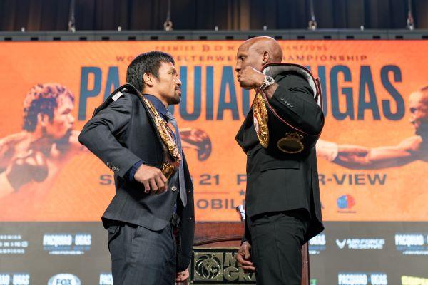 Pacquiao vs Ugas Final Press Conference - 08.18.21