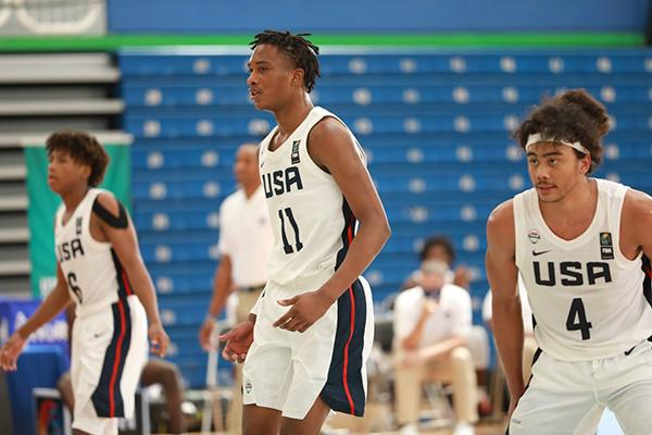 FIBA Americas U16: USA vs Puerto Rico
