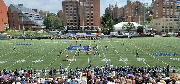Georgetown vs Harvard