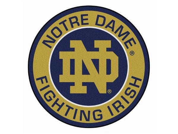 Notre Dame circle logo