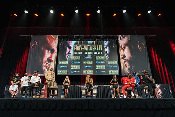 Fury-Wilder 3 final press conference Ryan Hafey / Premier Boxing Champions