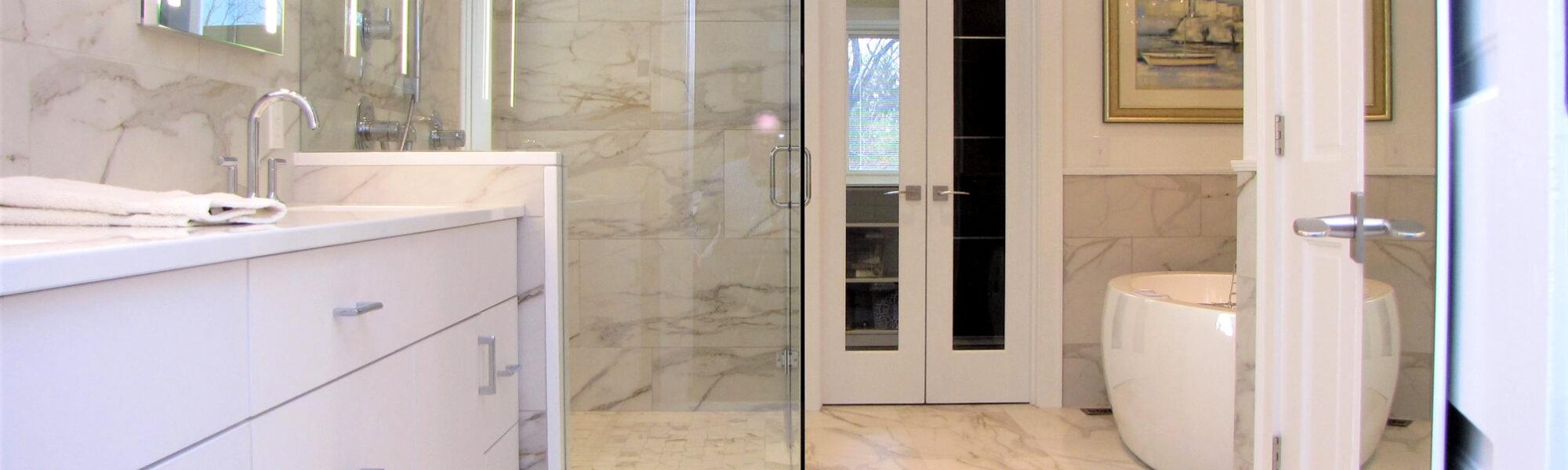Bath Remodel - Walk-in-shower