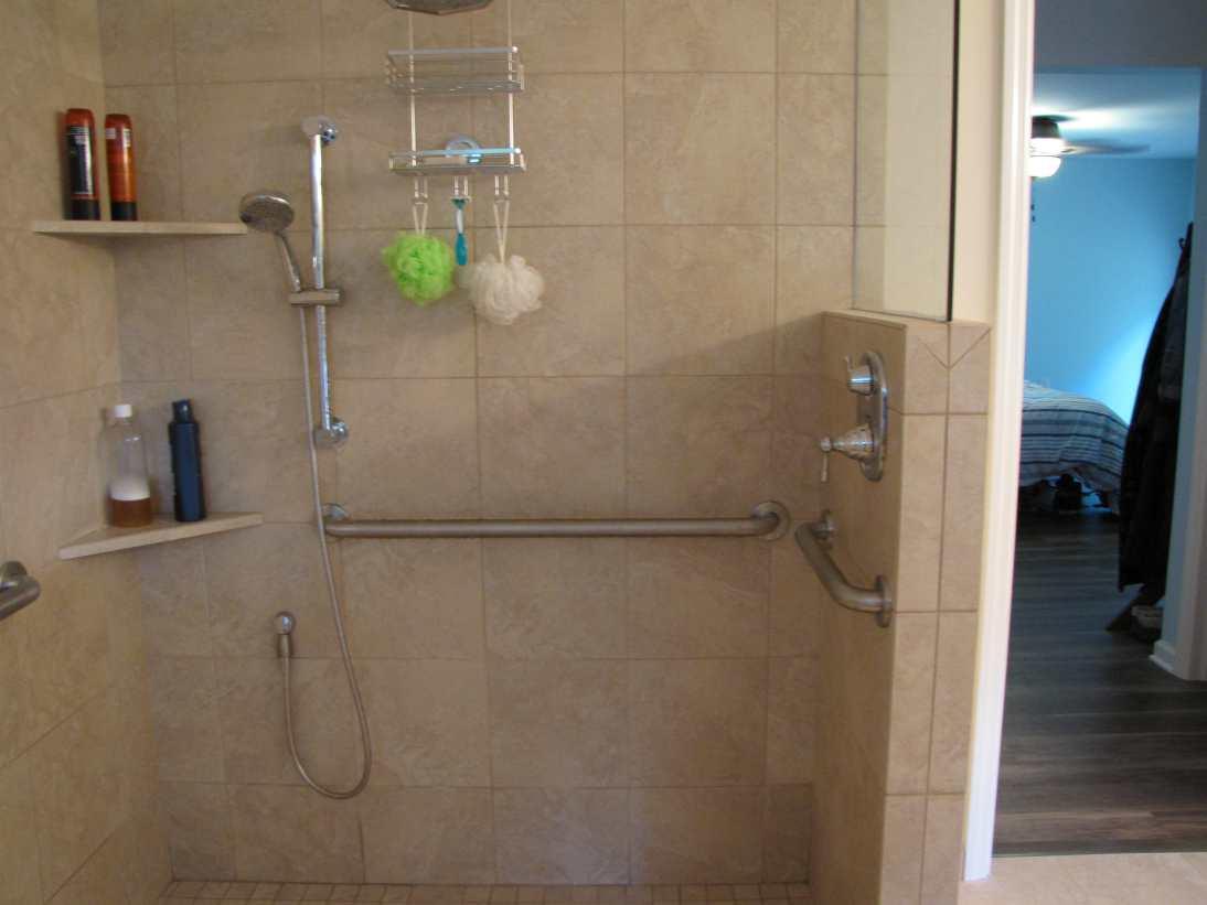 ALS diagnosis? Home remodeling - bathroom.
