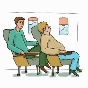 Airplane-seat-no-legroom