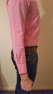 Sleeve too short