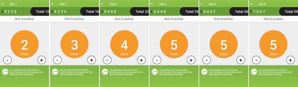 100 Push-Ups Journey Program 1 Overview