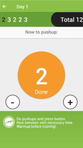 100 Push-Ups Program 1 Day 1