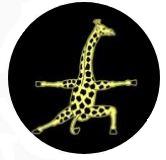 6 foot 8 - Giraffe Athletic Logo