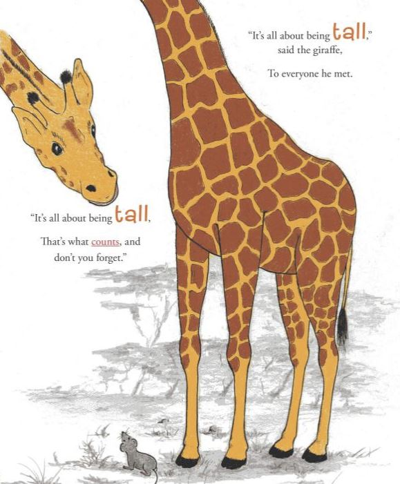 about being tall - book sample