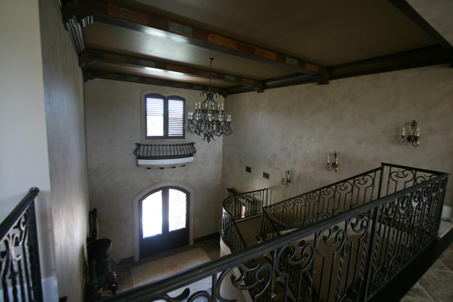 Darmron 2 story foyer