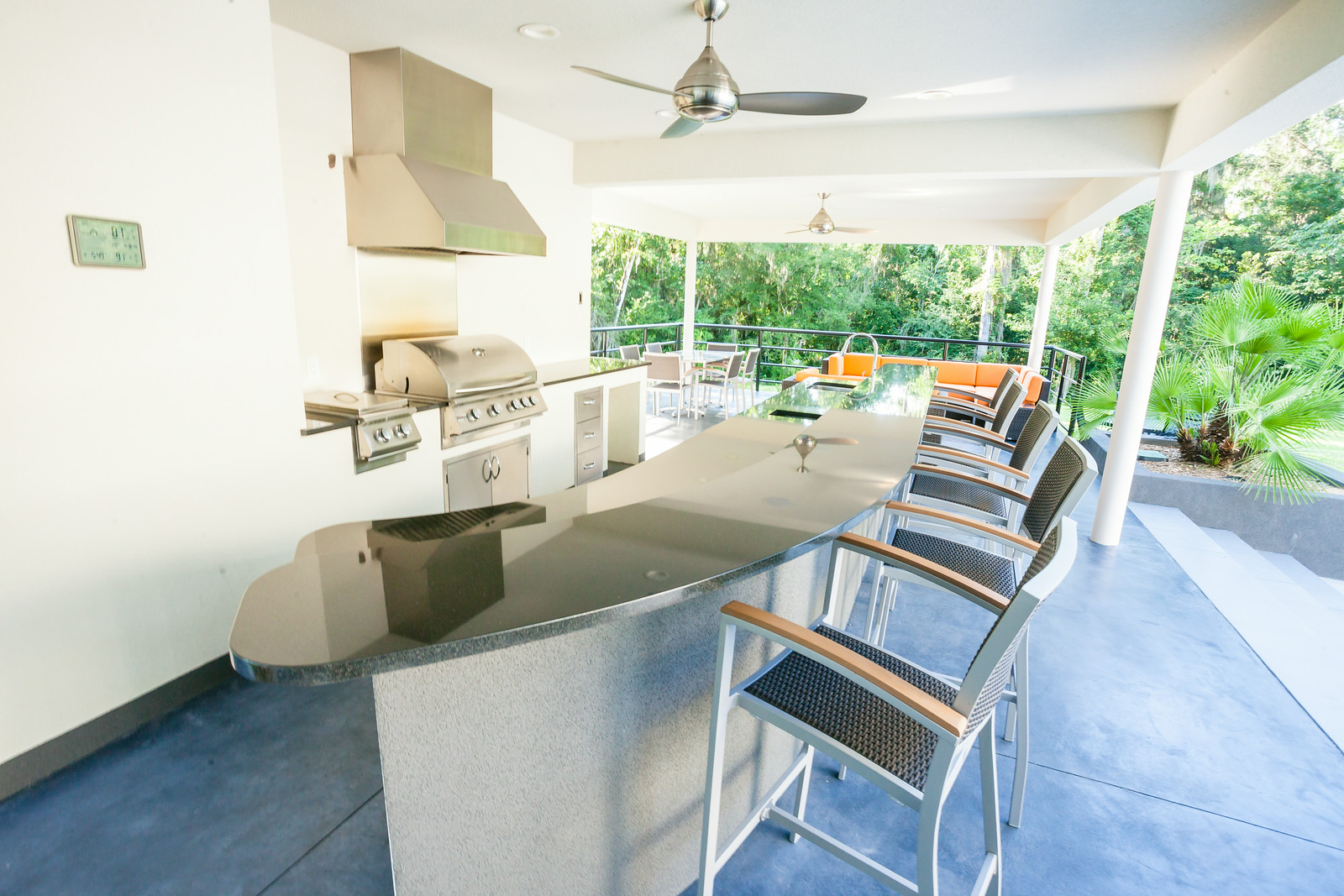 Outdoor Kitchen - Chandra Home
