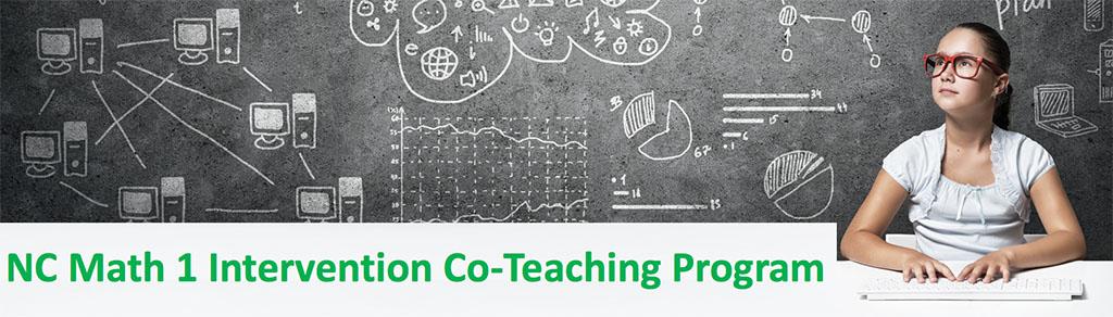 math 1 co-teaching banner