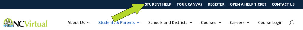 student help button
