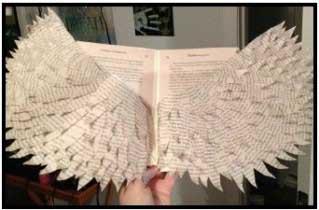 altered book artwork