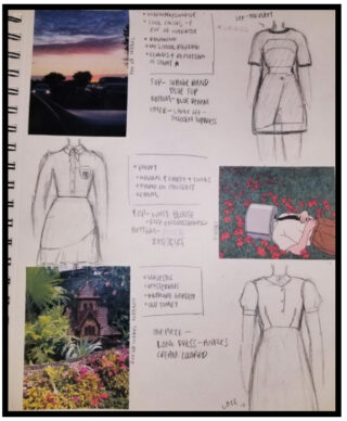 Fashion Design by Student
