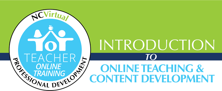 Teacher online training banner