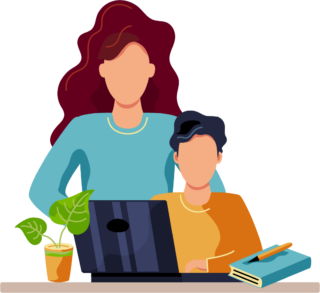 parent and child graphic