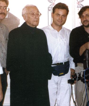 John Ostojic & Jacques Cousteau