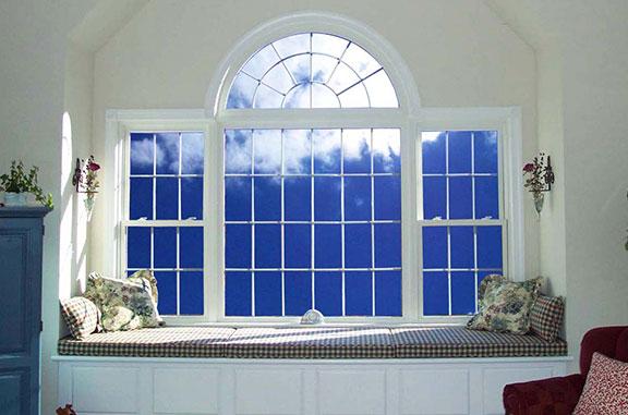 Geometric window shapes