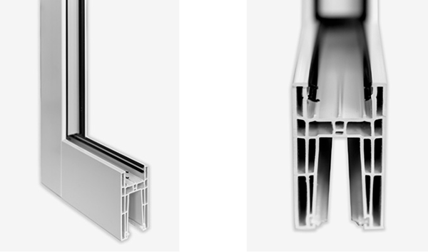 multi-point lock and multi chamber corecore