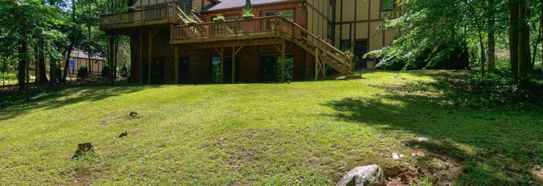 2.33 Acre Backyard