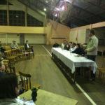 Comunidade de Palanque realiza encontro com candidatos à majoritária
