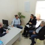 Representantes do HSSM dialogam com Giovane Wickert