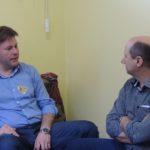 Em apoio a Giovane e Celso, Elton Weber cumpre agenda em Venâncio