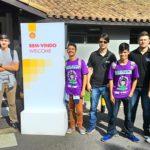 Credenciados, equipe Gefisul parte para os boxes, para primeiro dia de Eco-marathon