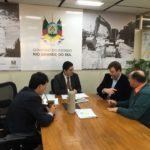 Wickert e Pereira organizam visita de Sartori à Venâncio Aires