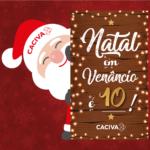 """Primeiro sorteio da promoção """"Natal em Venâncio é 10!"""" acontece na próxima semana"""