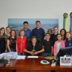 Aula de Cidadania: Poder executivo empossa Gestores Mirins