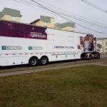 Condomínio Bela Vista recebe caminhão do SENAI