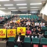 Cpers realiza mobilização no Parlamento Municipal