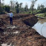 Castelhano, na região da RSC-453, recebe trabalho de limpeza