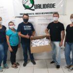 Município recebe doações de multivitamínicos e máscaras