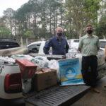 Campanha de arrecadação de alimentos da Afubra recebeu 27 toneladas em doações