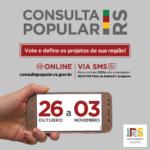Consulta Popular inicia no próximo dia 26