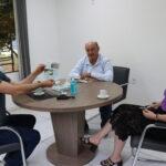 Presidente da Calçados Beira Rio visita Mato Leitão