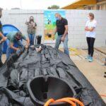 Escolas de Venâncio recebem biodigestores para transformar resíduos orgânicos em gás e fertilizantes