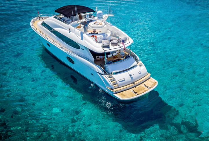 Lazzara 84 Water Time Charter