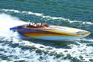 Skater Boat 46' Water Time Charter
