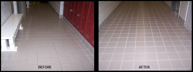 Commercial Grout Repair