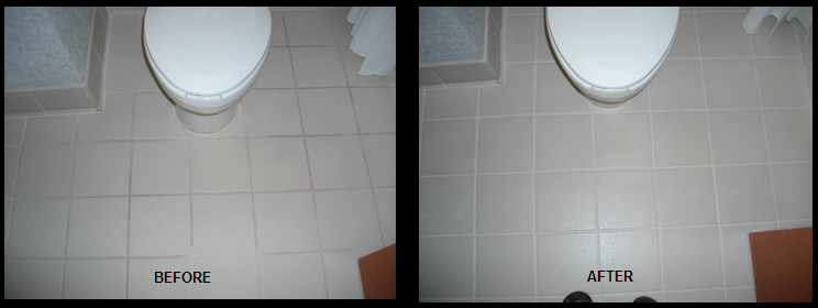 Hotel Bathroom Grout and Caulk Repair and Replace