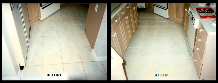 Kitchen Grout and Caulk Color