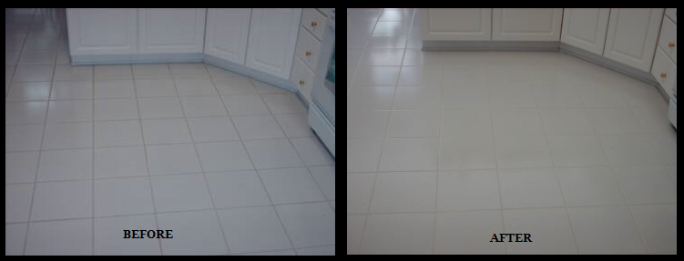 Cleaning Grout and Caulking Services